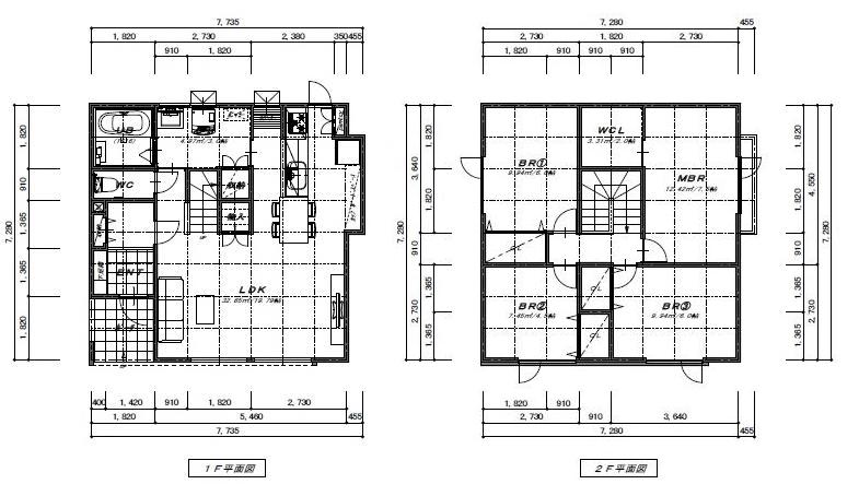 図:シンプルプライスプラン・cube(キューブ) 平面図